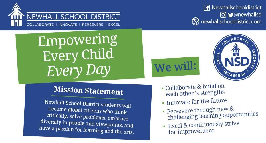 Empowering Every Child Every Day. Mission Statement
