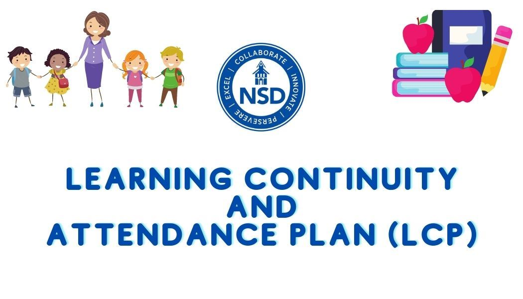 Learning Continuity and Attendance Plan with NSD logo